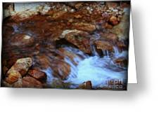 Lake Shasta Waterfall  Greeting Card