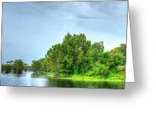 Lake Side  Greeting Card
