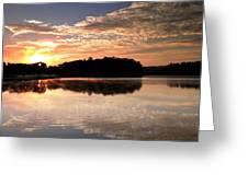 Lake Sunrise Greeting Card