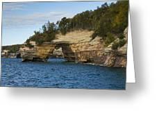 Lake Superior Pictured Rocks 17 Greeting Card