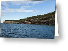 Lake Superior Pictured Rocks 22 Greeting Card