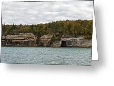 Lake Superior Pictured Rocks 45 Greeting Card