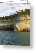 Lake Superior Pictured Rocks 8 Greeting Card