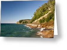 Lake Superior Shoreline Greeting Card