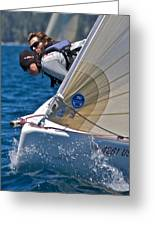 Lake Tahoe Regatta Greeting Card