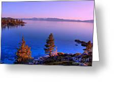 Lake Tahoe Serenity Greeting Card
