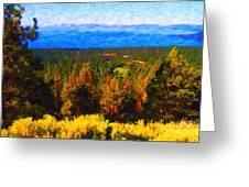 Lake Tahoe Greeting Card by Wingsdomain Art and Photography