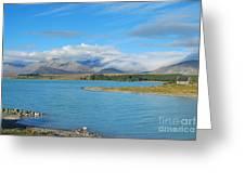 Lake Tekapo Church Greeting Card