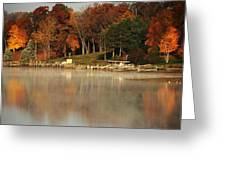 Lake Tomahawk Greeting Card