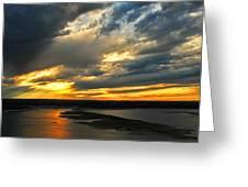 Lake Travis Reflections Greeting Card