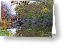 Lake Wingra Bridge Greeting Card