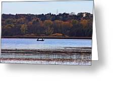 Lake Wingra Fishing Greeting Card