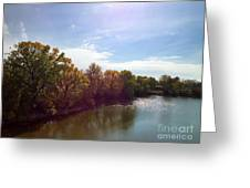 Lakefront  Greeting Card