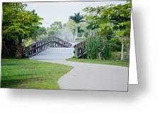 Lakes Park Greeting Card