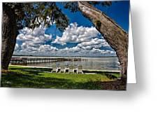 Lakeside View Greeting Card