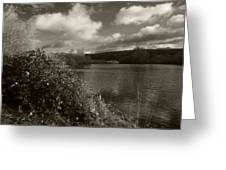 Lakeside View Greeting Card