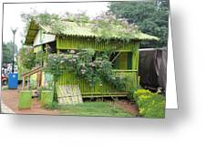 Lalbagh Hut Greeting Card