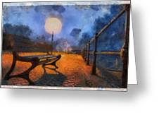 Lamplight Greeting Card