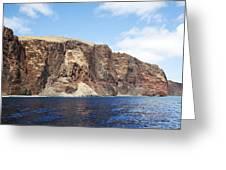 Lanai Sea Cliffs Greeting Card
