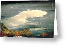 Land Meets Sky Greeting Card