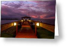Landing Lights Greeting Card