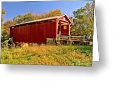 Landis Mill Covered Bridge Greeting Card
