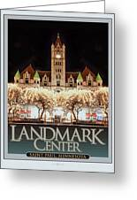 Landmark Center Winter Greeting Card
