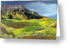 Lands End Road Vista Greeting Card