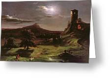 Landscape - Moonlight Greeting Card