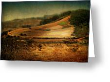 Landscape #20. Winding Hill Greeting Card