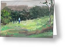 Landscape I Greeting Card