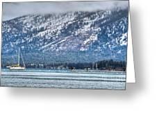 Landscape Lake Tahoe Greeting Card