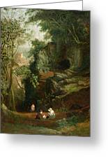 Landscape Near Clifton Greeting Card by Francis Danby