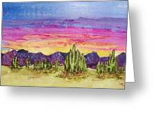 Landscape Greeting Card by Regina Ammerman