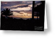 Lani Sunset Mauai Greeting Card