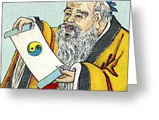 Lao Tse, Chinese Philosopher Greeting Card