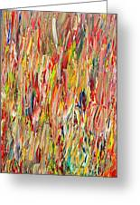 Large Acrylic Color Study 2012 Greeting Card