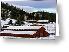 Large Barn Greeting Card