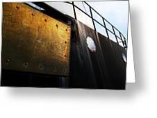 Large Ship Greeting Card