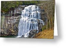 Large Waterfall Greeting Card