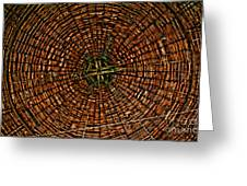 Largest Round Barn Ceiling Greeting Card