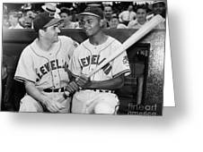 Larry Doby (1923-2003) Greeting Card