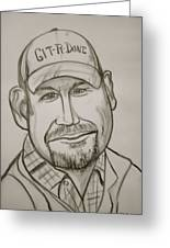 Larry The Cable Guy Greeting Card