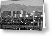 Las Vegas Suburbs Greeting Card