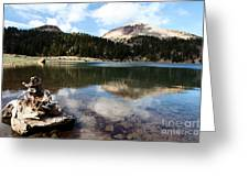Lassen Mountain Lakes Greeting Card