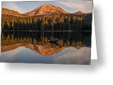 Lassen Reflecting 8 Greeting Card