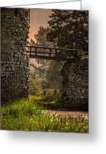 Last Bridge To Minas Tirith  Greeting Card
