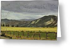 Last Harvest Greeting Card by Victoria  Broyles