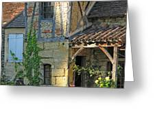 Last Light In Sarlat Greeting Card