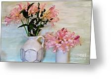 Last Of My Lilies Greeting Card